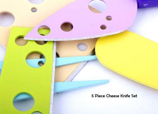 ست 5تایی (کامل) کارد پنیر خوری در هایپرشاین - hypershine.ir