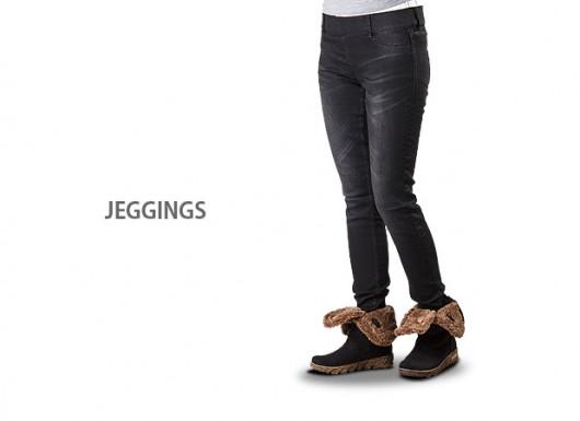 شلوار جین طرح لگ JEGGINGS
