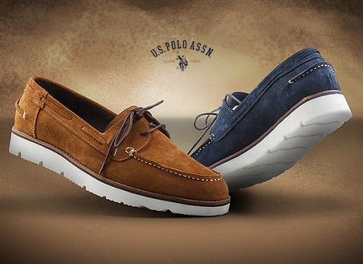 کفش کالج مردانه بنددار Polo