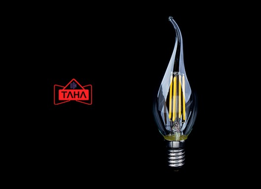 لامپ LED فیلامنتی اشکی TAHA