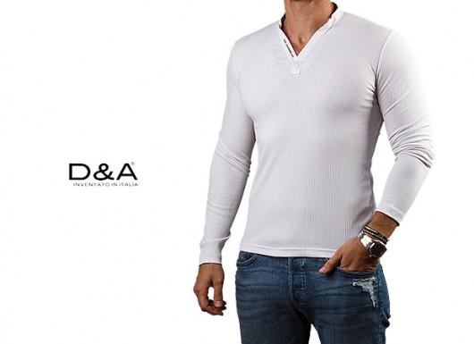تیشرت مردانه آستین بلند D A