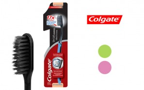 مسواک ذغالی Colgate Slim Soft